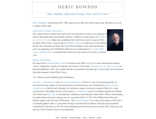 dericbownds.net screenshot