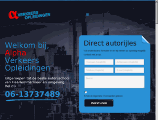 derijbewijswinkel.nl screenshot