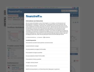 derivate.finanztreff.de screenshot