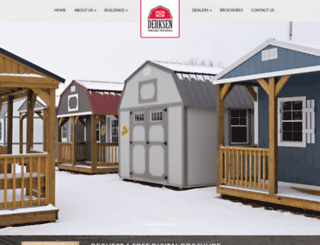 derksenbuildings.com screenshot