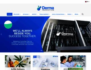 derma-innovation.com screenshot