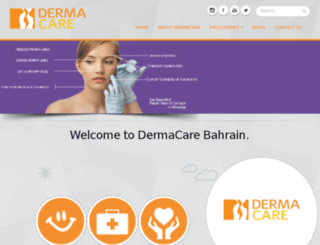 dermacarebahrain.com screenshot
