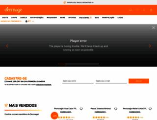 dermage.com.br screenshot