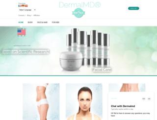 dermalmd.com screenshot