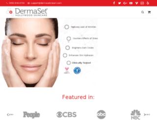 dermasetcream.com screenshot