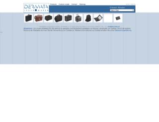 dermata.de screenshot