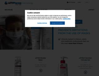 dermatologia.leti.com screenshot