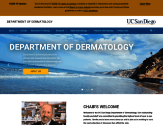 dermatology.ucsd.edu screenshot