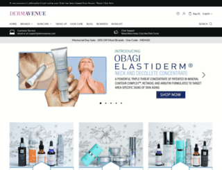 dermavenue.com screenshot