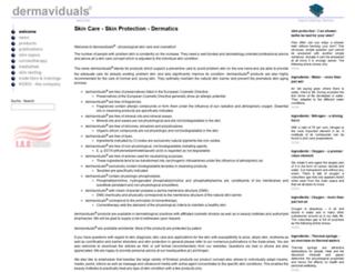 dermaviduals.com screenshot