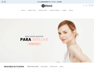 dermix.com.co screenshot