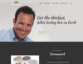 dermmatchindia.com screenshot