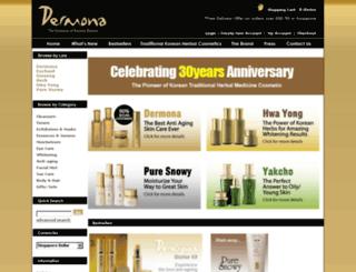 dermona.com.sg screenshot