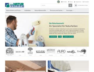 dernaturbaumarkt-shop.de screenshot