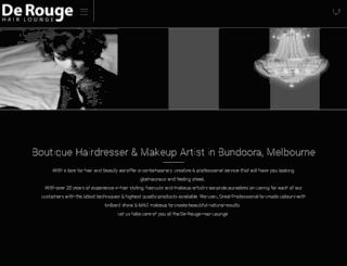 derouge.com.au screenshot