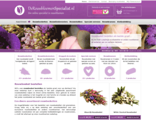 derouwbloemenspecialist.nl screenshot