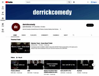 derrickcomedy.com screenshot