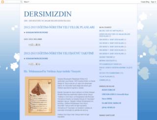 dersimizdin.blogspot.com screenshot
