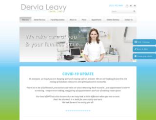 dervlaleavydentalcare.com screenshot
