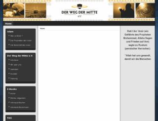 derwegdermitte.de screenshot