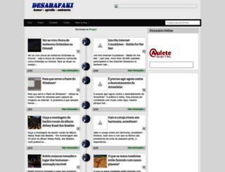desabafaki.blogspot.com.br screenshot
