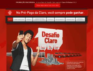 desafioclaro.com.br screenshot