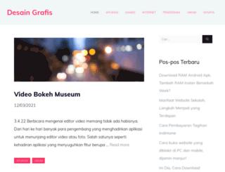 desaingrafis.co.id screenshot