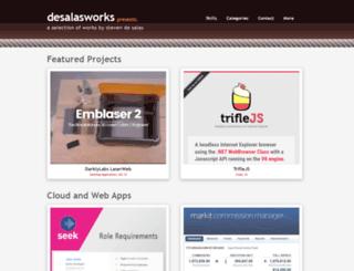 desalasworks.com screenshot
