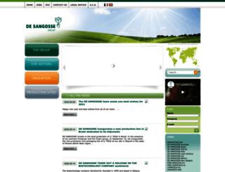 desangosse.com screenshot