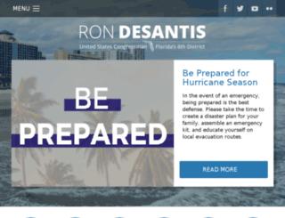 desantis.house.gov screenshot