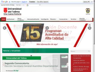 desarrollo.ut.edu.co screenshot