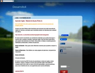 desarrollo4.blogspot.com screenshot