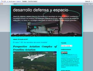 desarrollodefensayespacio.blogspot.com screenshot