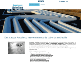 desatascosensevilla.net screenshot