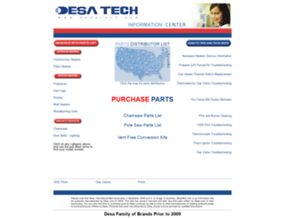 desatech.com screenshot