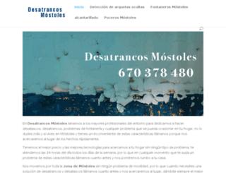 desatrancos-mostoles.es screenshot