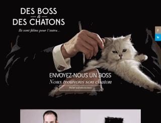 desbossetdeschatons.com screenshot