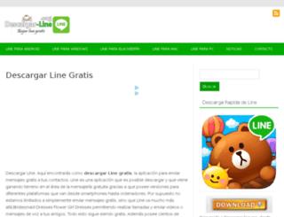 descargar-line.org screenshot