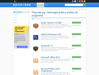 descargar.phpnuke.org screenshot