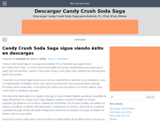 descargarcandycrushsodasaga.com screenshot