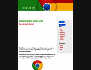 descargargooglechromegratis.com screenshot