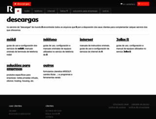 descargas.mundo-r.com screenshot