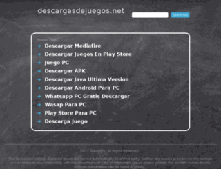 descargasdejuegos.net screenshot