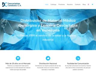 descartablescarabobo.com screenshot