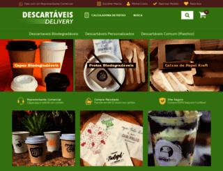 descartaveisdelivery.com.br screenshot