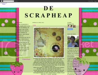 descrapheap.blogspot.com screenshot