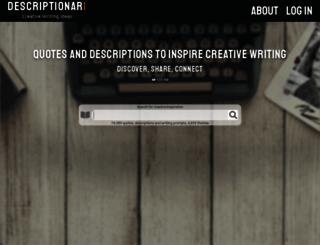 descriptionari.com screenshot