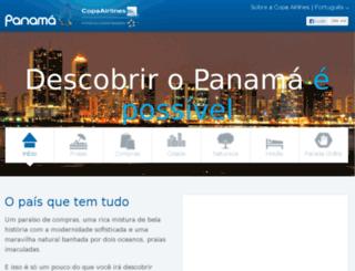 descubraopanamacomcopa.com screenshot