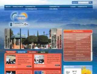 descubrecadereyta.com screenshot