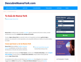 descubrenuevayork.com screenshot